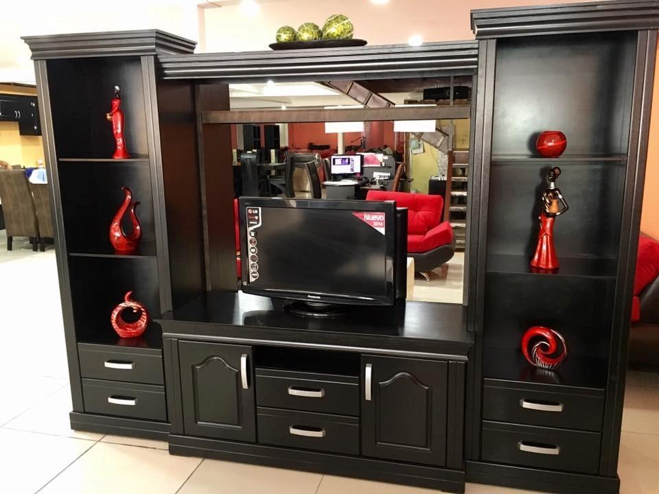 Centro de entretenimiento mueble para tv pantalla plana for Mueble de entretenimiento