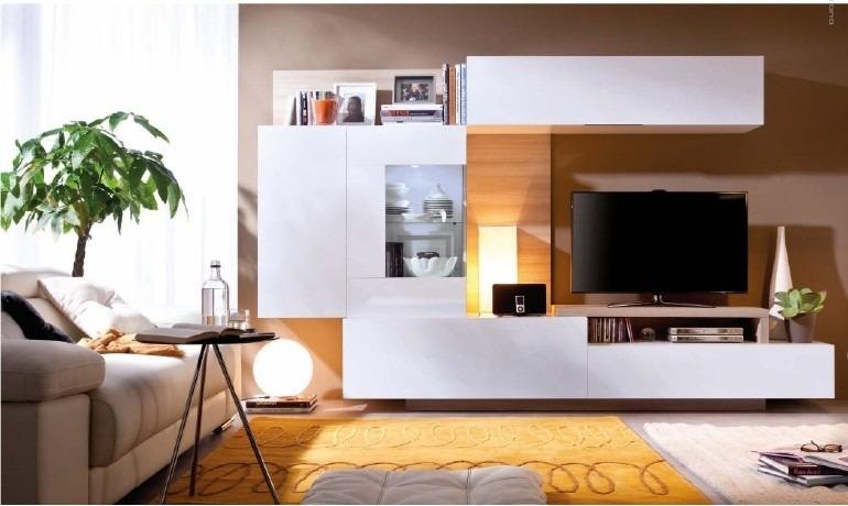 Centro De Entretenimiento Mueble Tv Modernos Calidad Eleganc Bs