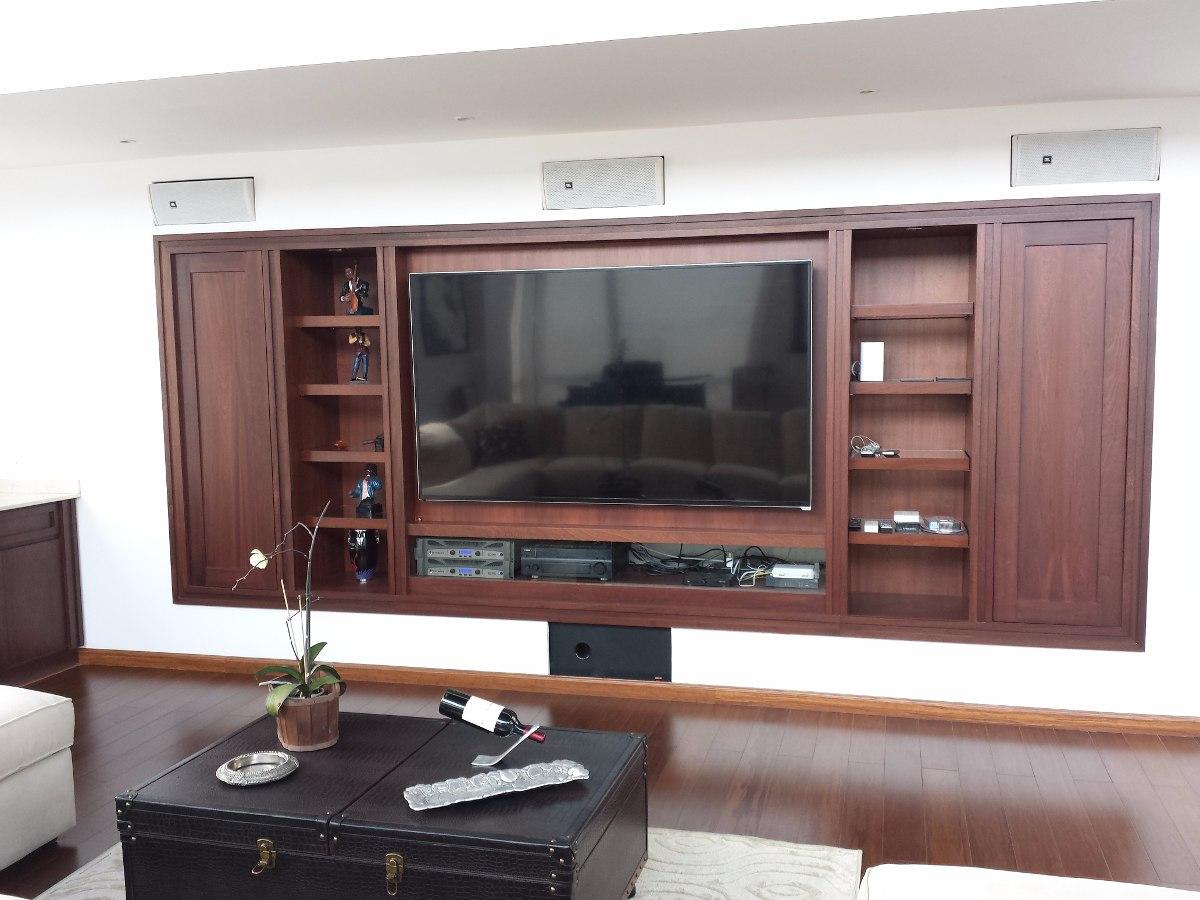 Centro de entretenimiento muebles para tv u s 330 00 en for Muebles para television de madera modernos