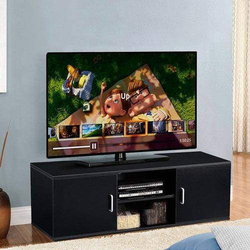 centro de entretenimiento o mueble para tv en melamina