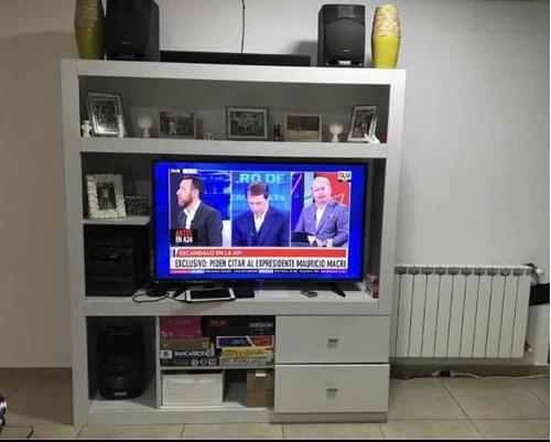 centro de entretenimiento / rack tv