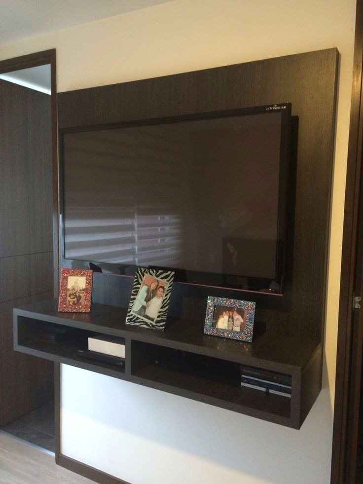 Centro de entretenimiento tv aereo minimalista 28 bs 9 - Muebles para el televisor ...