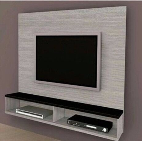 Centro de entretenimiento tv blu ray repisas 32 pulgadas for Muebles para smart tv 55