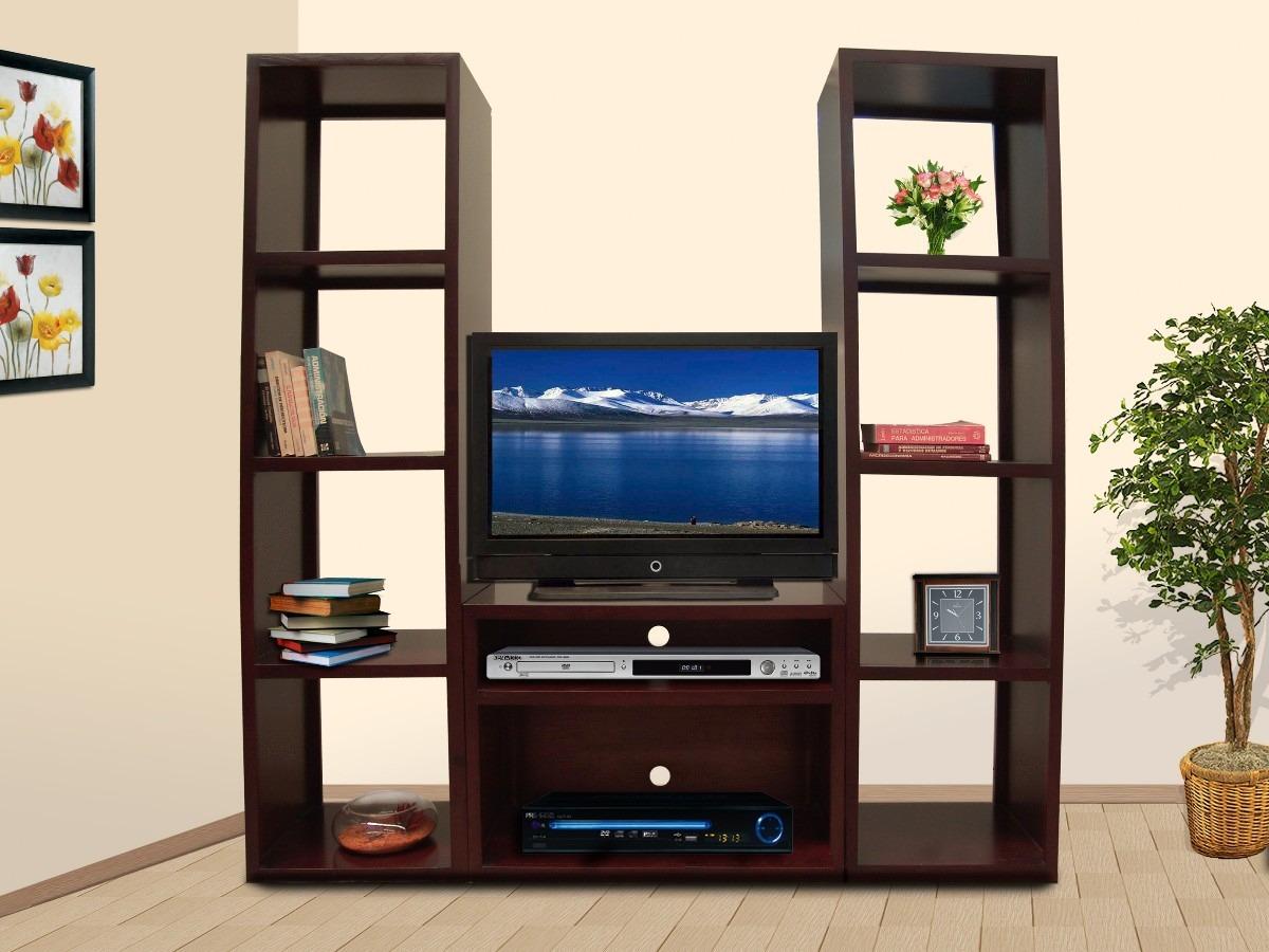 Centro De Entretenimiento, Tv, Librero, Muebles El Angel Hm4  $ 6,350