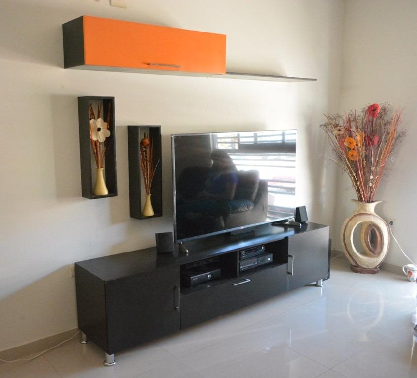Centro de entretenimiento mueble para tv salas enver for Muebles de sala de entretenimiento