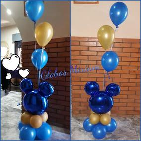Centro De Globos Decoracion Mickey Minnie