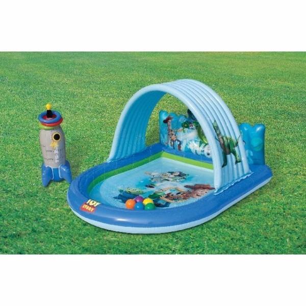 Centro De Juego Acuatico Piscina Para Ninos Toy Story Intex Bs 0