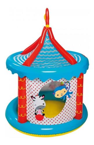 centro de juegos circus ball pit + 25 pelotas - fisher price