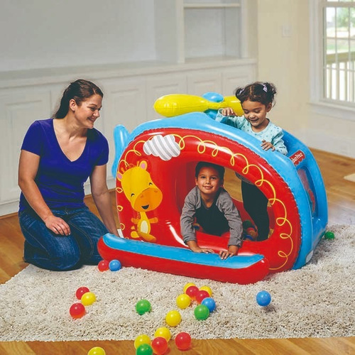 centro de juegos helicopter ball pit - fisher price