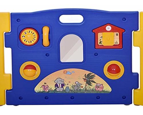 centro de juegos para bebé 8 paneles de seguridad