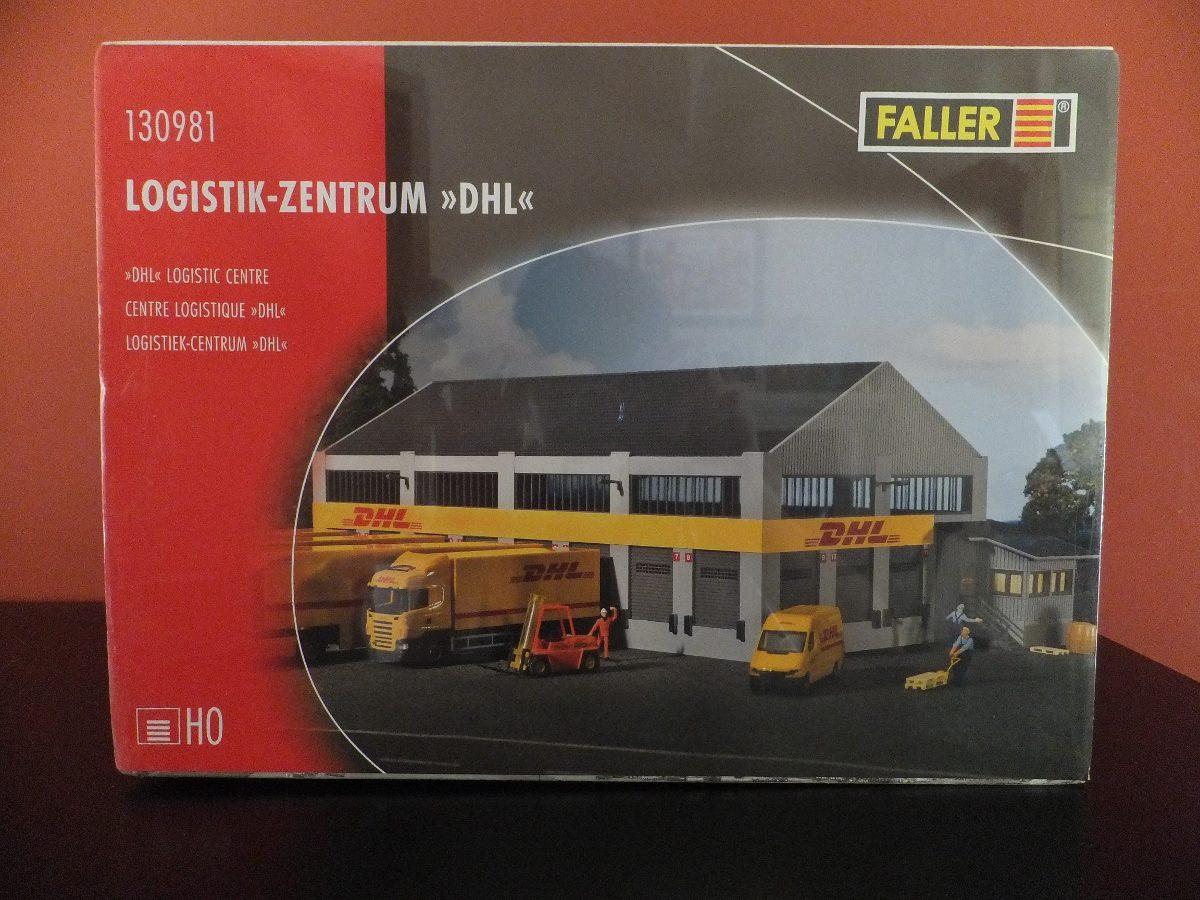 Faller 130981 logística-centro DHL #neu en OVP #