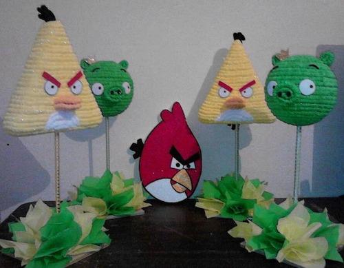centro de mesa angry birds