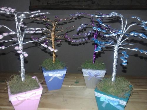 centro de mesa arbol de la vida casamiento y 15