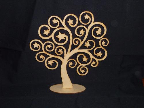 centro de mesa árbol de la vida mdf (30 cm alt)
