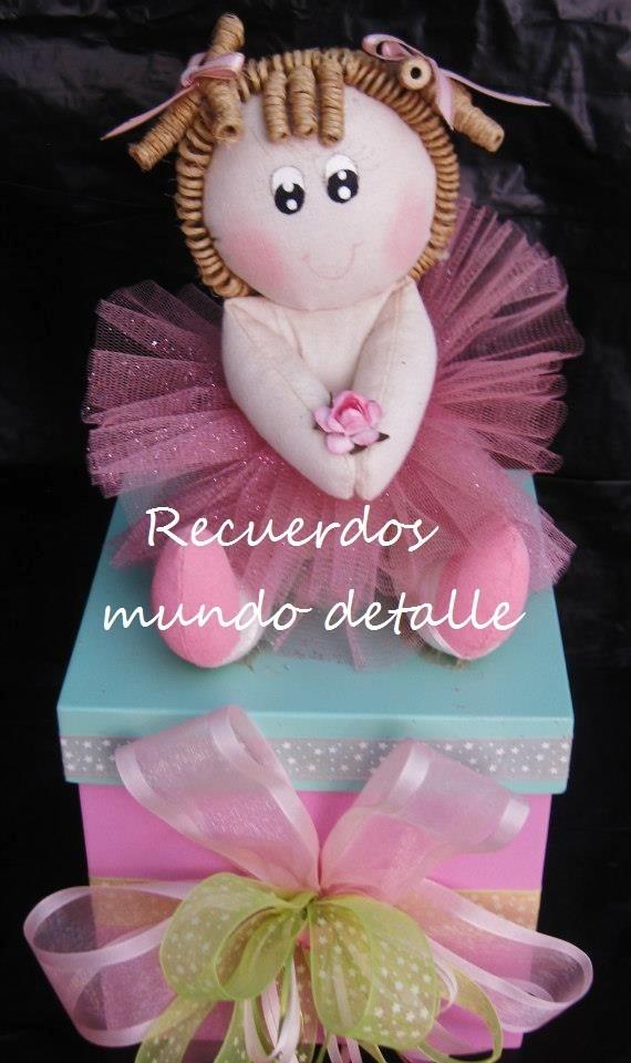 Centro De Mesa Baby Shower Bailarina Niña Bebe Tierna Paris. Cargando Zoom.