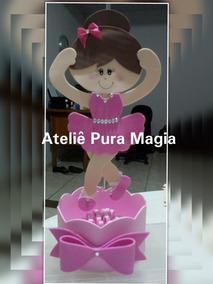 fb7a187eb66 Kit Lembrancinhas Bailarina Eva no Mercado Livre Brasil