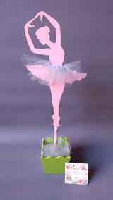 82ec2da15 Centros De Mesa Bailarina De Ballet - Arte y Artesanías en Mercado ...
