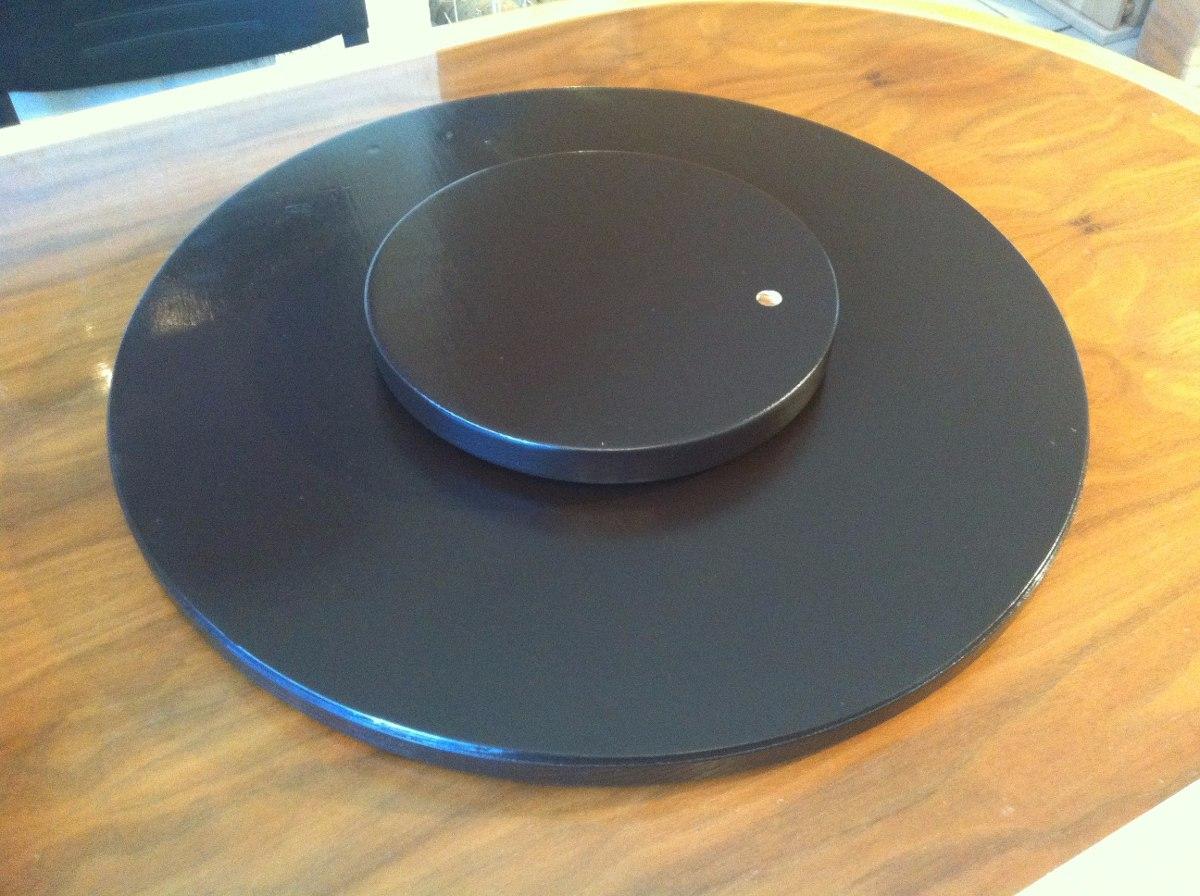 Centro de mesa base giratoria comedor 60cm env o gratis - Como hacer mesa comedor ...