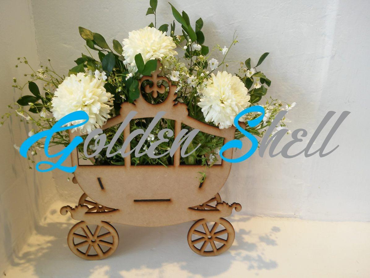 Centro de mesa carruaje princesa en mercado libre - Centros para mesa ...