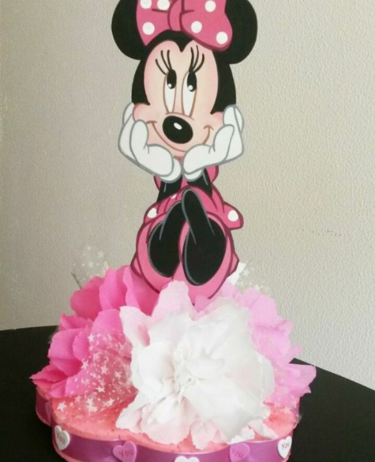 Centro De Mesa, Chupeteros Fiesta Infantil Minnie Mouse - Bs ...