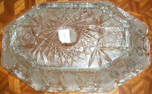 centro  de mesa cristal  frances