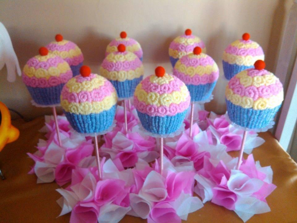 Centro De Mesa Cupcakes 235 00 En Mercado Libre