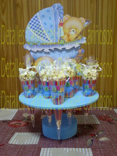 centro de mesa dulcero para fiestas