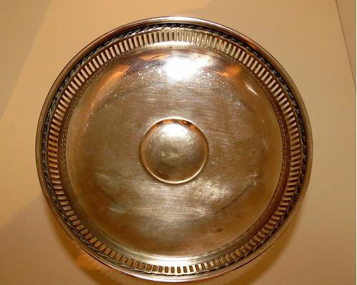 centro de mesa francés art nouveau baño plata el restaurador
