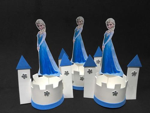 centro de mesa frozen ( 15 unidades )