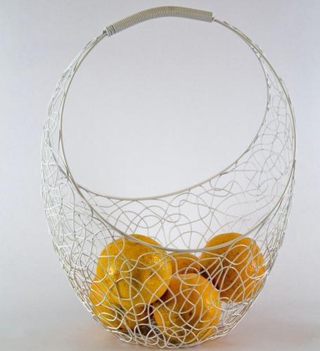 centro de mesa frutera set de 3 tamaños 24,31 y 38 cm hierro