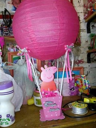 centro de mesa globo todos los personajes