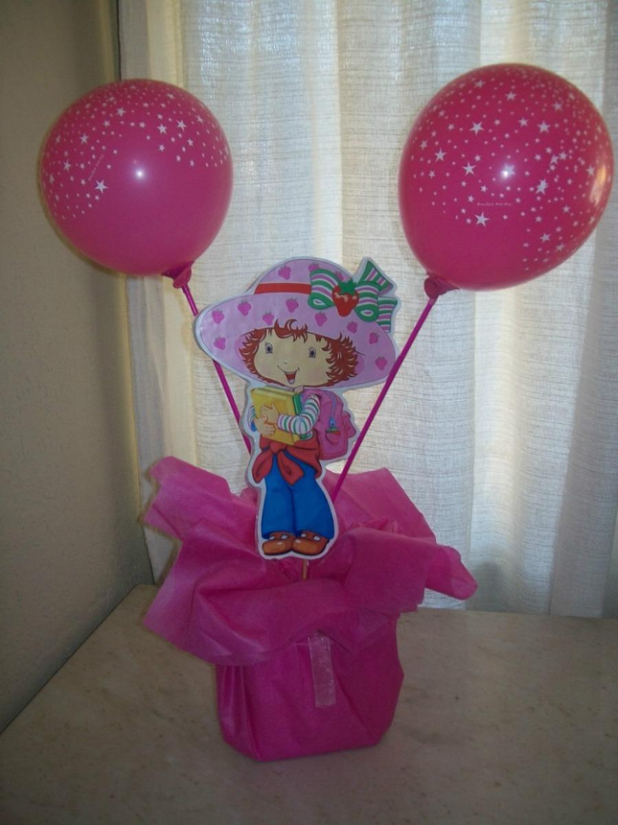 Centro de mesa infantil frutillitas 160 00 en mercado for Mesas fiestas infantiles