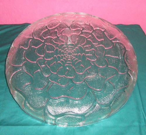 centro de mesa italiano de cristal con su caja original