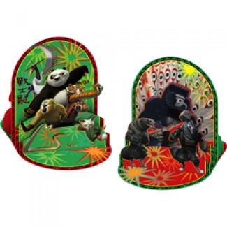 centro de mesa kung fu panda