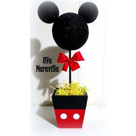 Centro De Mesa Mickey - Minnie Varios