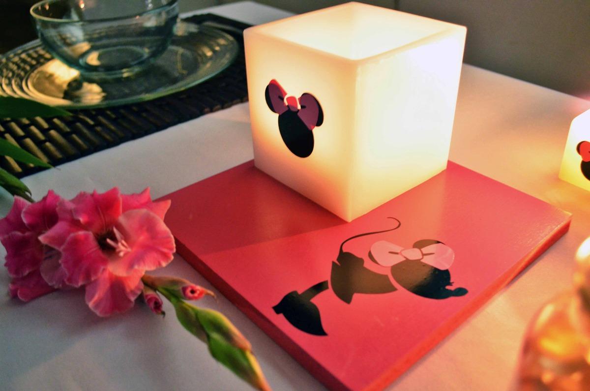 Centro de mesa minnie mouse aluzza en mercado libre - Centros para mesa ...