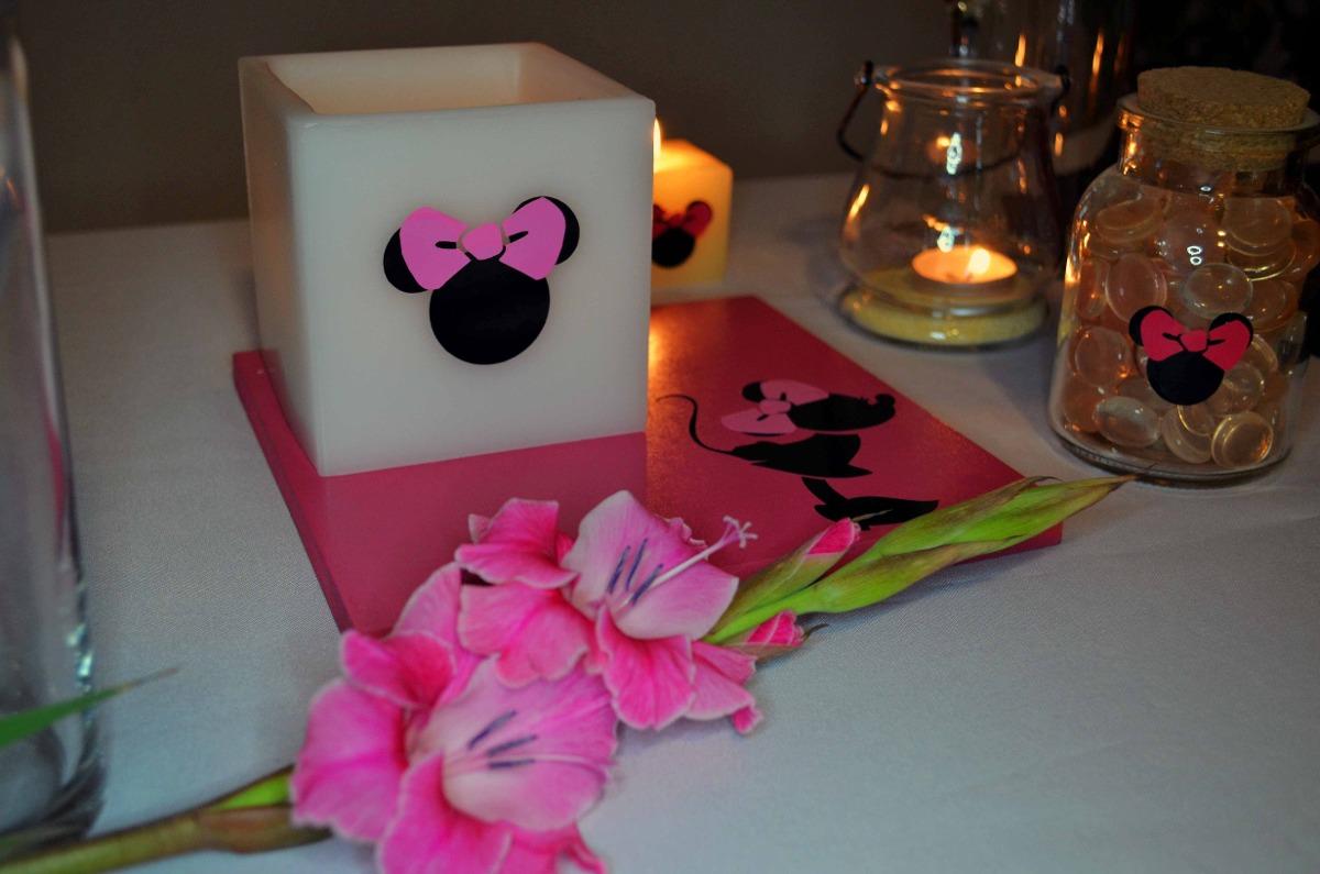 Centro de mesa minnie mouse aluzza en mercado libre - Centros de decoracion ...