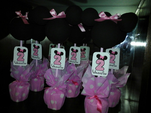centro de mesa minnie o mickey