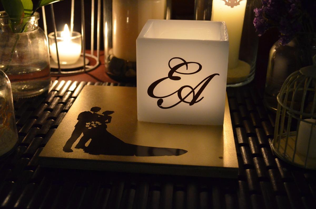 Centro de mesa para boda en tonos dorado y chocolate aluzza en mercado libre - Decoraciones en color plata ...