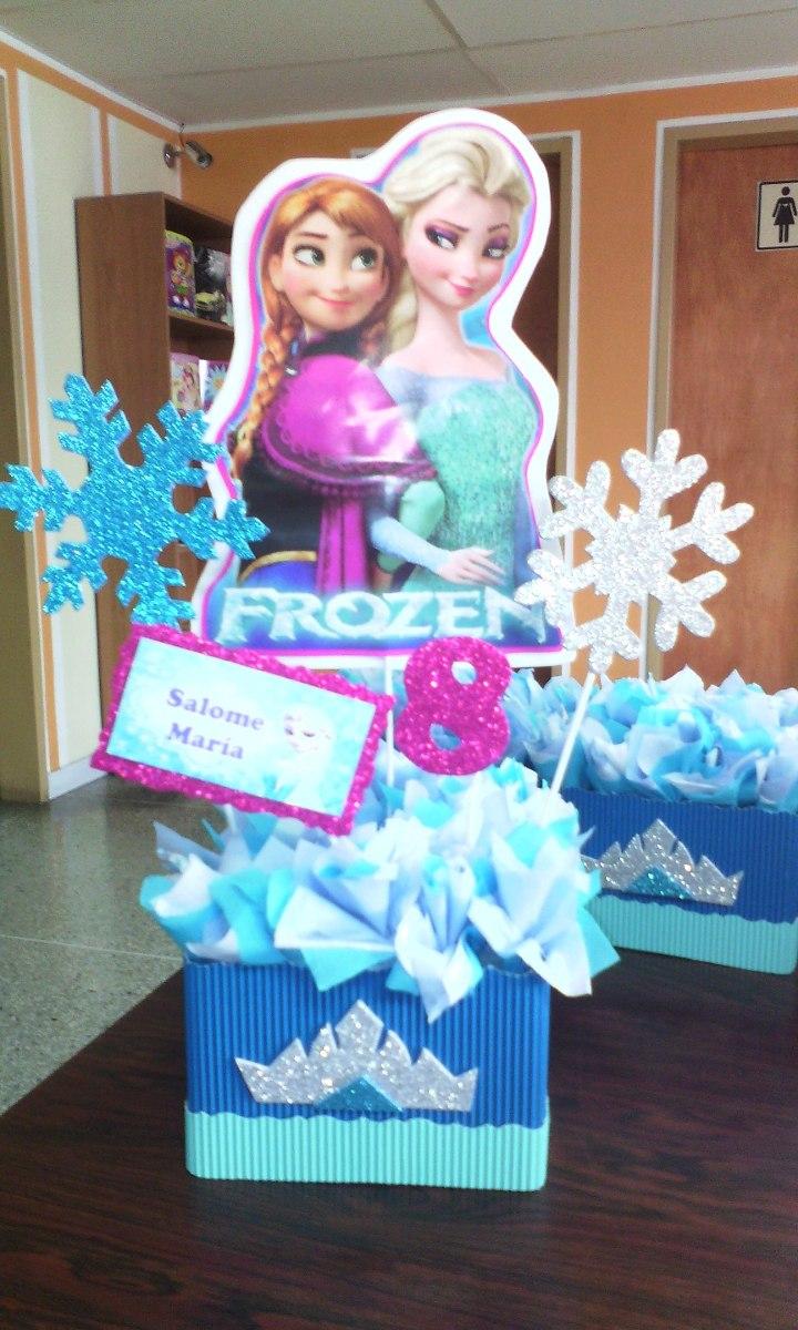 Centro de mesa para fiesta infantiles decoraci n bs en mercado libre - Comidas para cumpleanos en casa ...