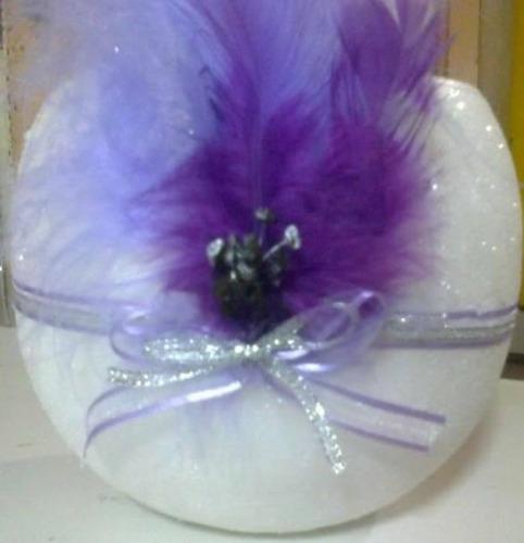 centro de mesa para todo tipo de evento:violeta