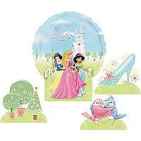 centro de mesa princesas disney cenicienta bella blancanieve