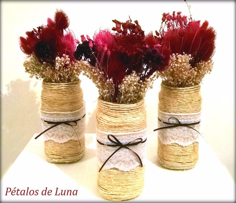 Centros de mesa con flores stunning centros de mesa con - Centro de mesa rustico ...