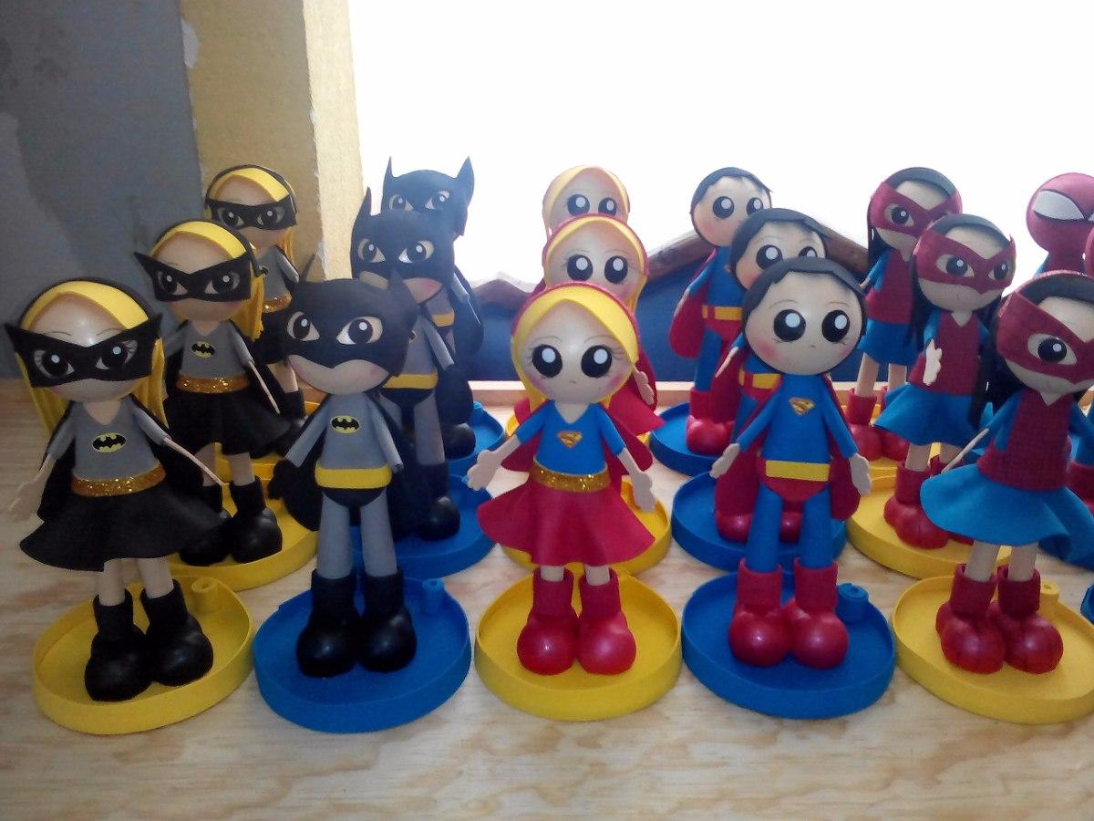 Centro de mesa super heroes fiestas infantiles - Centro de mesa infantil ...