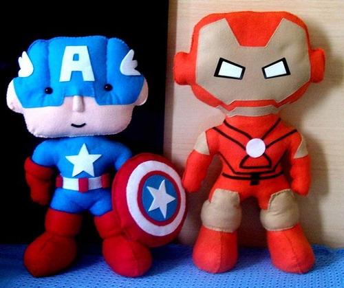 centro de mesa super-herói