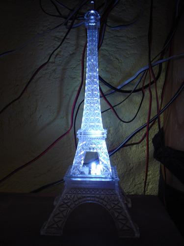 centro de mesa torre eiffel paris 25 cm