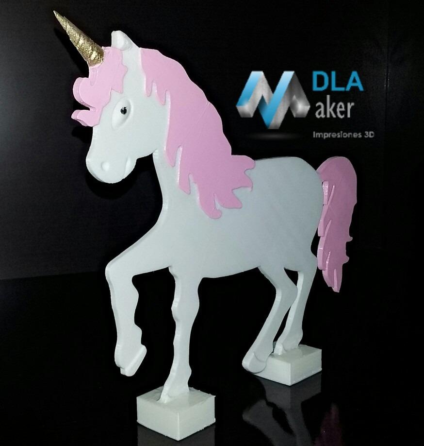 Centro de mesa unicornio en pl stico decoraci n para for Decoracion para pared de unicornio