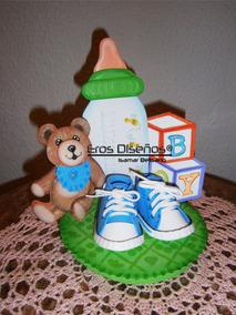 Recuerdos De Nacimiento De Varon.Centro De Mesa Varon Baby Shower Recuerdo Nacimiento