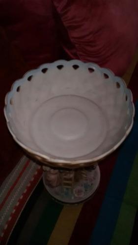 centro de porcelana japonesa bisque año 1940., 31 cm. alto x