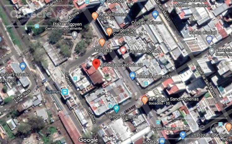 centro de quilmes 2 oficinas   cochera. inmejorable ubicacion.